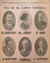 1919 Election flyer