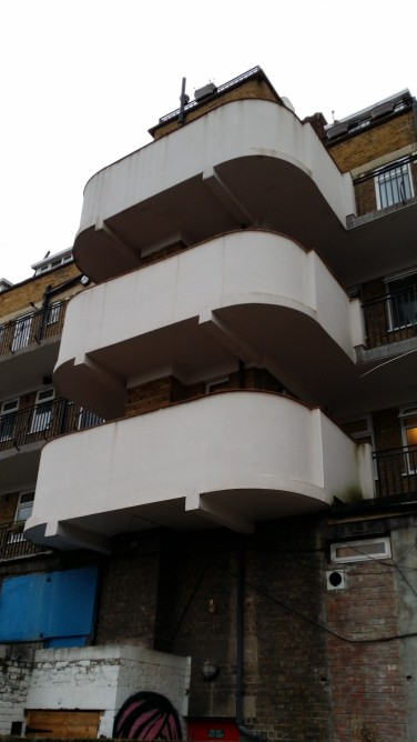 Hemans Street rear balconies