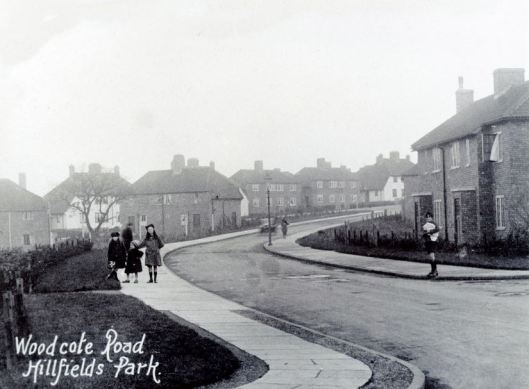 Woodcote Road, Hillfields Park, c1930 © Paul Townsend and made available under the Creative Commons licence