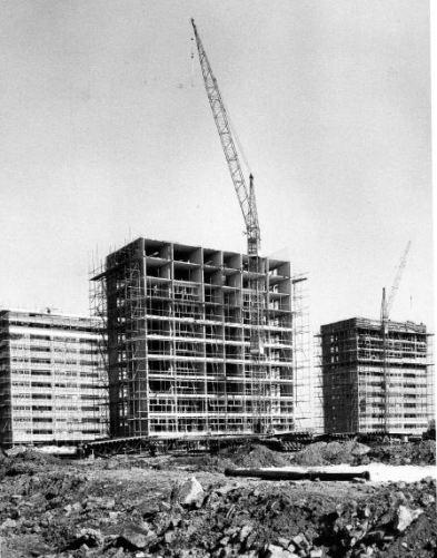 Castle Bromwich, 1965: a Bryants system-built scheme