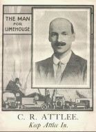Attlee's 1923 general election leaflet