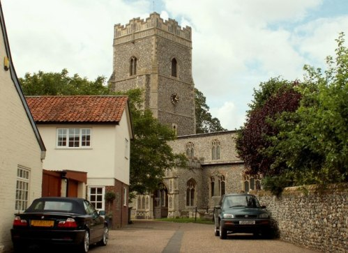 St Mary's Ixworth: Perrott's church © Wikimedia Commons
