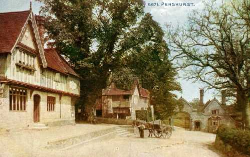 Penshurst, an early undated postcard