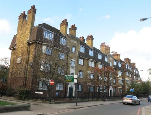 Wandsworth Plain, completed 1939