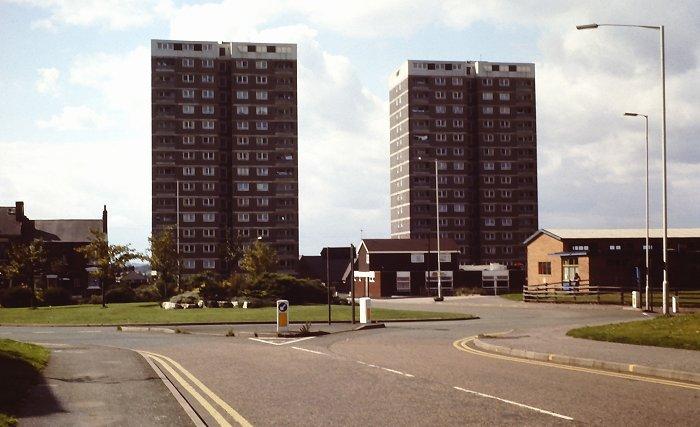 Leys flats, taken by Richard Ashmore Courtesy of John and Christine Ashmore